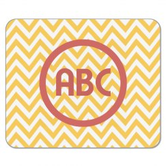 Custom Initials Chevron Mouse Pa