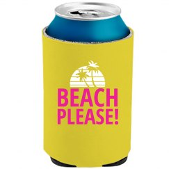 Beach Please With Neon