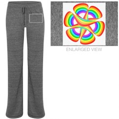 Rainbow Rosette