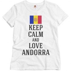 Keep calm love Andorra
