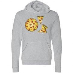 glitter sequin pizza