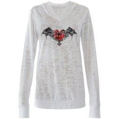 Goth Heart & Bat Wings