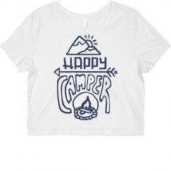 Happy Camper Crop