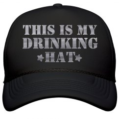Metallic Drinking Hat Spring Break