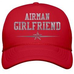 Metallic Print Air Force Girlfriend