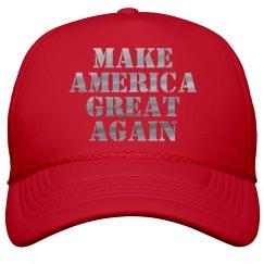 Make America Great Again Metallic