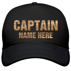 Metallic Captain Custom Name