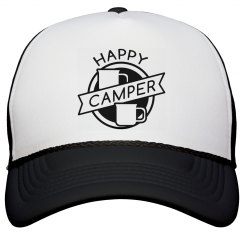 Happy Camper Badge Hat