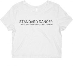 Standard Dancer Ballroom Shirt