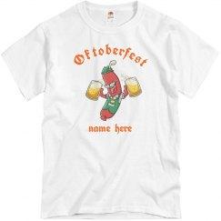 Oktoberfest Custom Name Shirt