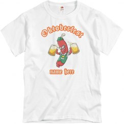 Oktoberfest Custom Name Shirt