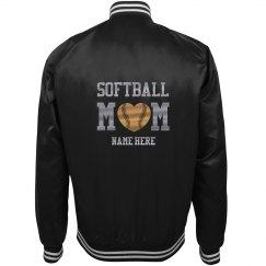 Customized Softball Mom