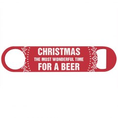 Xmas Most Wonderful Time For Beer