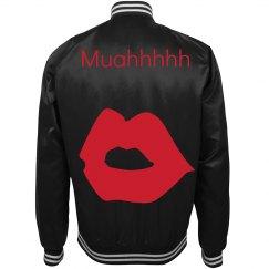 Muahhhhh Bomber Jacket