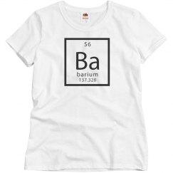 Basic Barium Group Costume