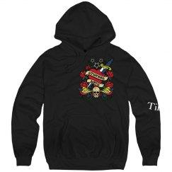 Till Death Skull Hoodie