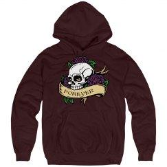 Forever Skull Hoodie
