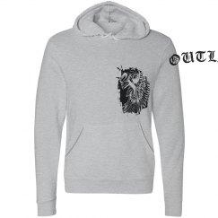 Outlaw Skull Hoodie