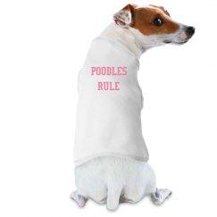 Poodles Rule - T-shirt.1