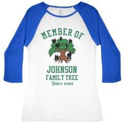 Johnson's family tree