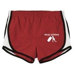 Peak Strong running shorts high hip