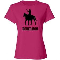 Custom Rodeo Mom Tshirt