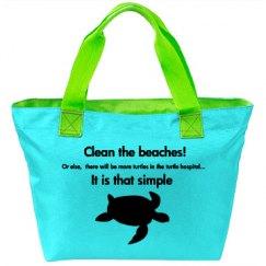 Clean the beaches! Turtle