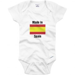 Made in Spain infant top