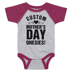 Design Onesies for Mother's Day