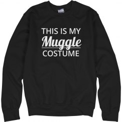 This Is My Muggle Costume Black