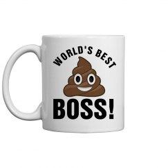 World's Best Boss Poop
