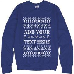 Custom Dog-Themed Ugly Sweater
