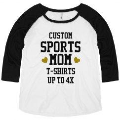 Custom Bling Sport Mom
