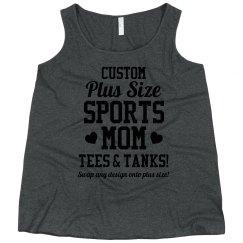 Curvy Plus Sized Custom Tank