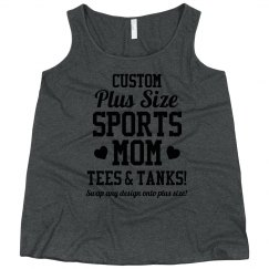 Curvy Plus Sized Custom Tank