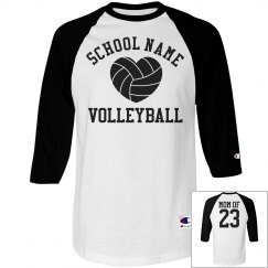 Trendy Volleyball Mom Shirts With Custom Number
