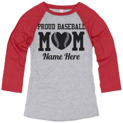 Custom Baseball Mom Pride Jersey