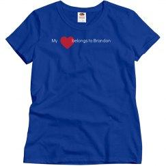 Heart belongs to Brandon