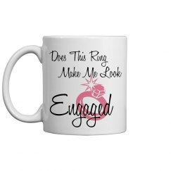 Engaged Coffee Cup