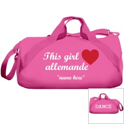 This girl loves Allemande