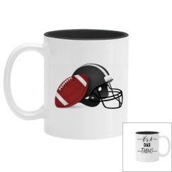 DaD Football Mug