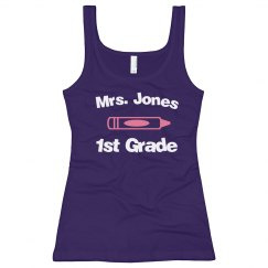1st Grade Teacher Tank