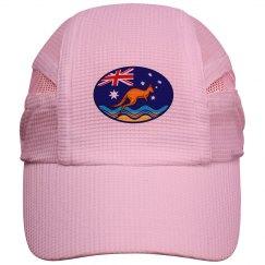 Kangaroo oval flag