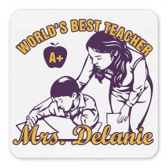 Best Teacher Gift Magnet