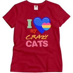 Love my crazy cats!