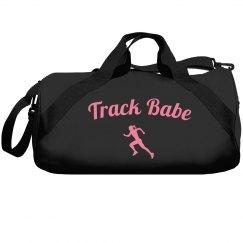 Track babe