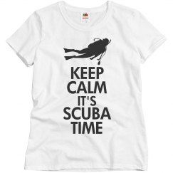 Keep calm it's scuba time