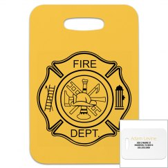 Fire Fighter Luggage Tag