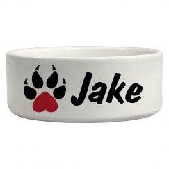 Jake, Dog Bowl