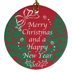 Merry Christmas Ornament